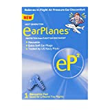 EP2 by Cirrus Healthcare Second Generation EarPlanes Earplugs Ear Protection from Flight Air and Noise Sound (1 Reusable Pair)