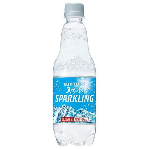 サントリー 天然水スパークリング【手売り用】 500mlペットボトル×24本入×(2ケース)