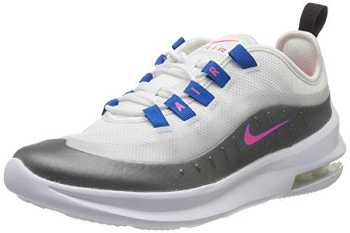 Nike Air MAX Axis (GS), Zapatillas de Running para Asfalto, Multicolor (White/Hyper Pink/Black/Photo Blue 103), 37.5 EU