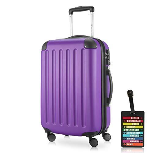 HAUPTSTADTKOFFER · Valise · 49 liters (55 x 35 x 20 cm) · Serrure TSA · en différentes couleurs (Violet)