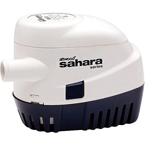 Attwood Sahara Automatic Bilge Pump S500 Series 12V 500 GPH by attwood