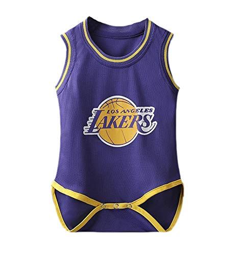 Kasonj Babybody, Basketball-Strampler Ärmellose, atmungsaktive Babykleidung