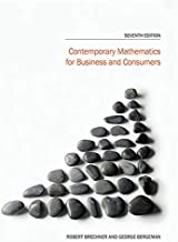contemporary mathematics for business and consumers 7th edition