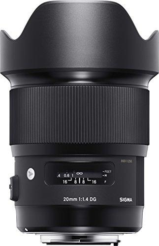 SIGMA単焦点レンズArt20mmF1.4DGHSMキヤノン用フルサイズ対応