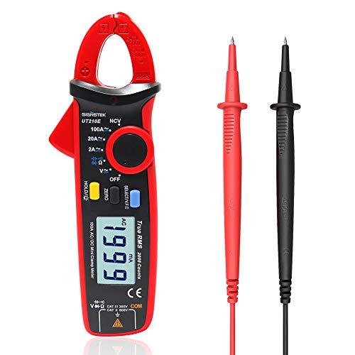 Signstek UT210E Handheld RMS AC/DC Mini Digital Clamp Meter Resistance Capacitance Tester