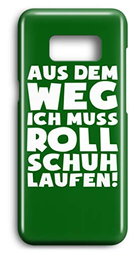 shirt-o-magic Handyhülle Rollerskates: Muss Rollschuh laufen! - Case -Samsung S7-Kelly Green