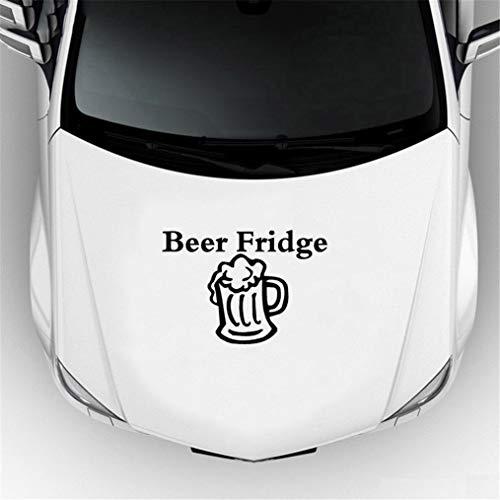 Wetterfeste Aufkleber Auto Bier Kühlschrank Klassische Mode Auto Styling Gestanzte Auto Aufkleber Auto Motorrad Aufkleber Jdm