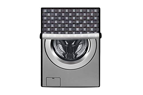 Stylista Washing Machine Cover for LG 6 kg Inverter Front Load FH0FANDNL02 Waterproof & Dustproof