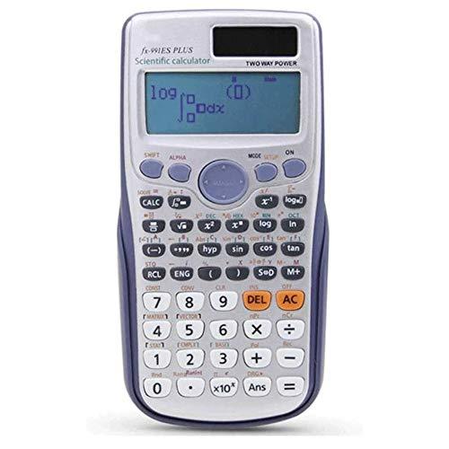 WCJ Hand Student Scientific Calculator Led display zakken functies rekenmachine voor het onderwijs berekeningsgereedschap, materiaal: kunststof