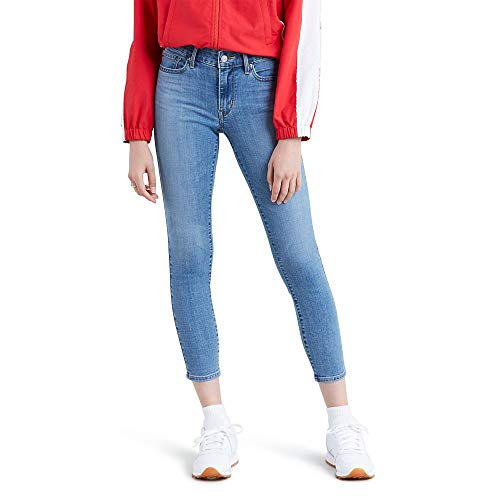 Levi's Women's 711 Skinny-Ankle Jeans, Hawaii Sunset, 26 (US 2)