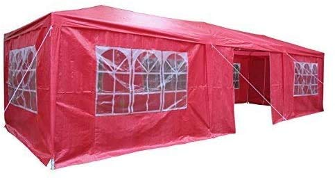 Shed and Sunshade shelter and Blue Pavilion Tent Tent Sunshade with Side Panel,Pink