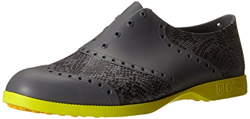 Biion Unisex The Patterns Oxford and Golf Slip On, Snake, 10 Mens M US