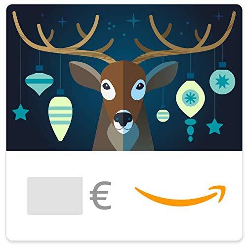 Cheques Regalo de Amazon.es - E-mail - Ciervo de Navidad