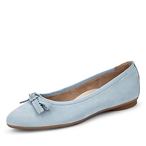 Paul Green 2579 Damen Ballerinas Hellblau, EU 37