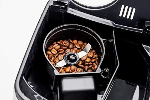 クイジナート10カップミル付き全自動コーヒーメーカーシルバーDGB625J