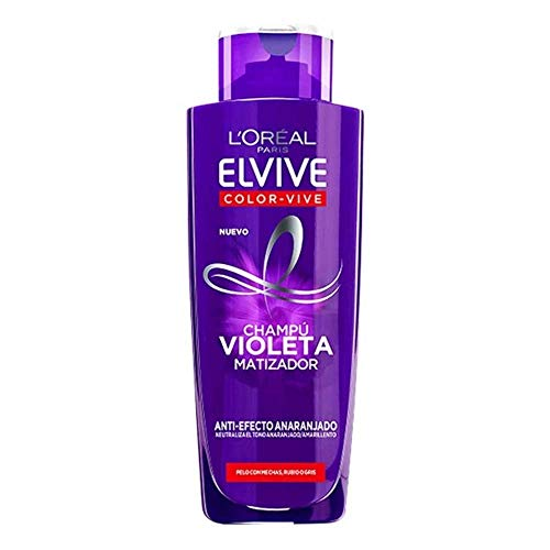 L'oreal Elvive Champú 200 Ml Purple, 1 Unidad