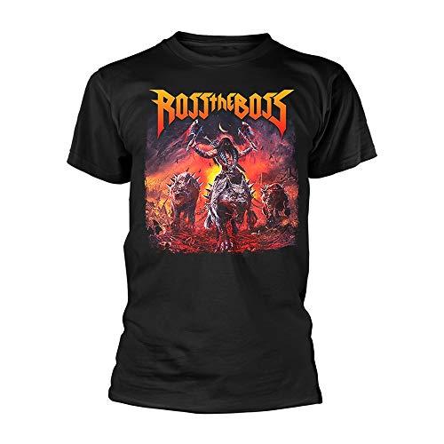 PHM Ross The Boss 'Wolves' (Negro) Camiseta