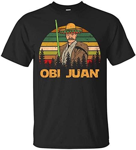 Mexikanischer Obi Juan mit Sombrero Lustiges Cinco De Mayo Filmparodie Star Wars T-Shirt 5XL