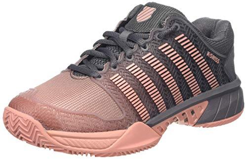 K-Swiss Performance Hypercourt Express HB, Zapatillas de Tenis Mujer, Pink Plum 093-Manta (tamaño Mediano), Color Coral, 37 EU