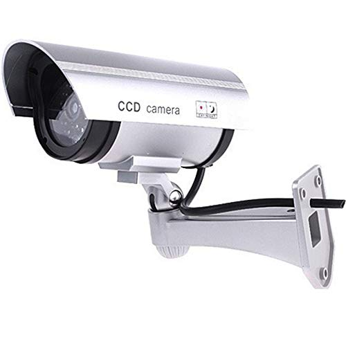 Great Deal! OTO Dummy Camera - Camera Dummy Security Camera Dummy - Fake Camera with Red LED Light -...