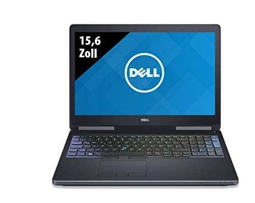 Dell Precision 7510 Workstation 156 Zoll 1920x1080 Intel Core i7 6820HQ 27 GHz 16GB DDR4 RAM 512GB SSD Nvidia Quadro M1000M Windows 10 Pro Generaluberholt