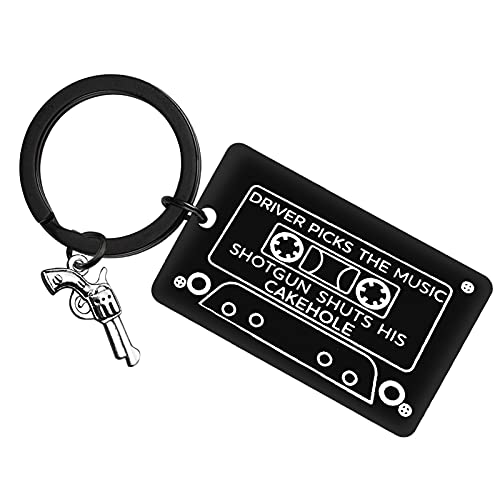 Driver Keychain Tv Show Merchandise Gift New Driver Gifts Keychain for Best Friend Bestie Music Lover Gift for Teen Girl Boy Birthday Keyring Boyfriend Jewelry Gift for Graduation Christmas