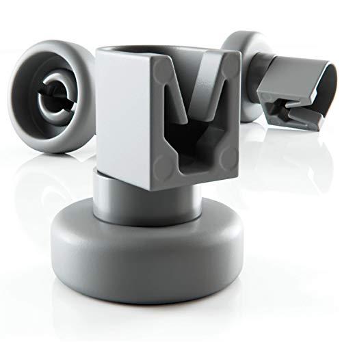 Set di rotelle lavastoviglie cestello Plemont® [cesto superiore] - rotelle lavastoviglie rex electrolux - universale adatte a molte cestello lavastoviglie - ricambi lavastoviglie rex