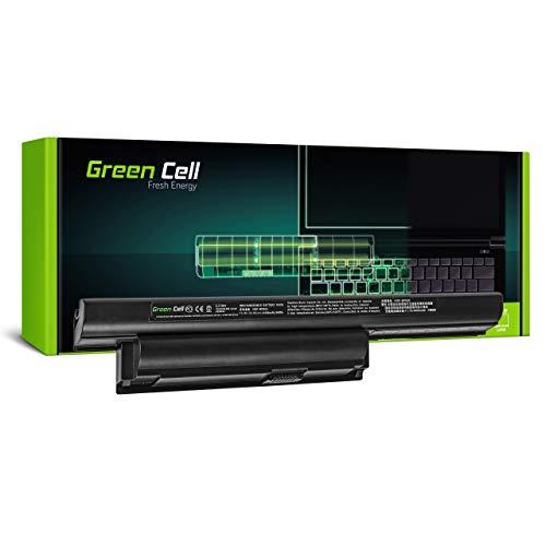 Green Cell Akku für Sony Vaio PCG-71318L PCG-71411L PCG-71511L PCG-91111M PCG-91111V PCG-91112L PCG-91112M VPCE1511G1E VPCE1511G1E/W VPCE1Z1E Laptop (4400mAh 11.1V Schwarz)