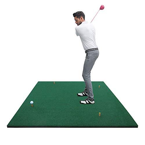TESITE Golf Putting Praktijk Indoor Praktijk Bal Mat Persoonlijke Training Mat (1.5m*1.5m)