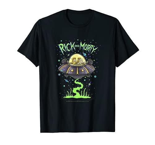 Rick and Morty Drunk Rick Ship T-Shirt