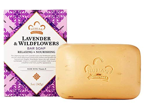 Shea Butter Soap with Lavender & Wildflowers ( Six Pack)