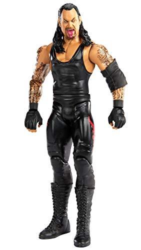 WWE GKY91 - WWE Action Figur (15 cm) Undertaker mit realistischen Gesichtszügen, Spielzeug Actionfigur ab 6 Jahren