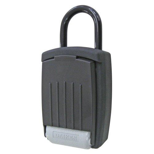 ダイケン キー保管ボックス プッシュボタンタイプ DK-N300 ブラック W80×D175×H50mm