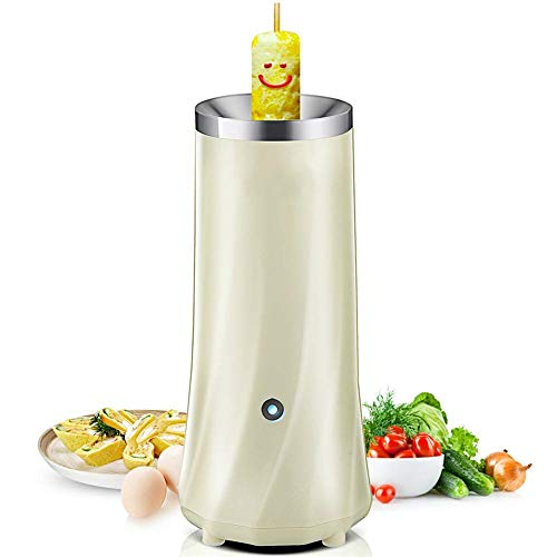 Mini Electric Omelette Roll Egg Maker Egg Cooker Automatische Eierbrötchenmaschine Egg Master Cup Frühstück Weiß