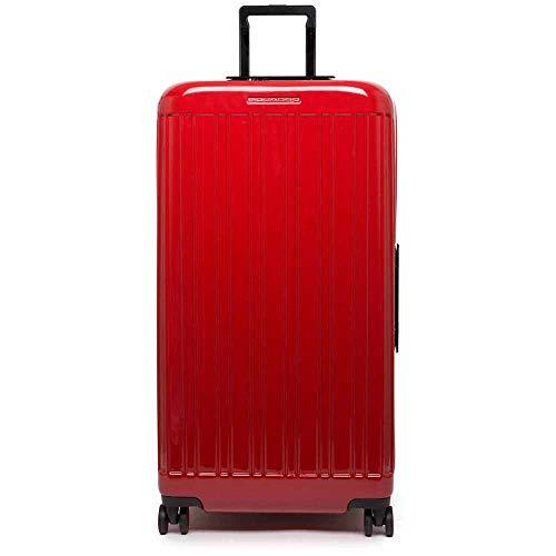 Piquadro Seeker - Maleta de 4 ruedas (79 cm) rojo Talla única