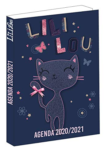 Agenda Chat Lili Lou – September 2020 bis August 2021 – 12 x 17 cm