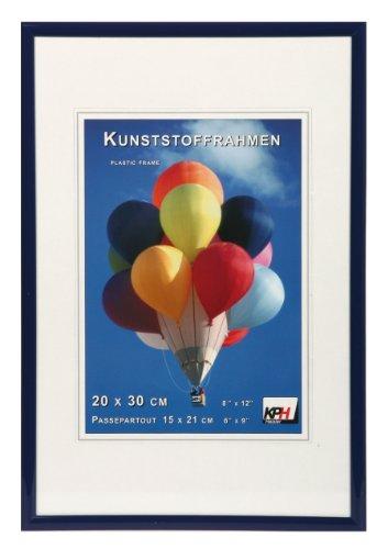*** New Lifestyle Kunststoff Bilderrahmen ***: Farbe: Blau | Format: 21x29,7 (DIN A4)