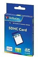 三菱ケミカルメディア Verbatim SDHCカード 8GB Class4 SDHC8GYVB1