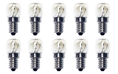 Universal réfrigérateur congélateur lampe?: 15 W E14 T22 (lot de 10)
