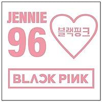 BLACKPINK ジェニー カッティングステッカーS ピンク