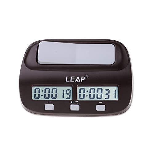 JAGENIE Reloj de Ajedrez Digital Contemporáneo Ajedrez I-go Contar Hasta
