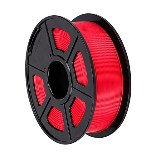 WPF ZJH 3D Printer PLA Filament 1.75mm Filament Size Accuracy +/- 0.02mm 1KG 343M 2.2LBS RepRap 3D Printing Material (Color : Red)