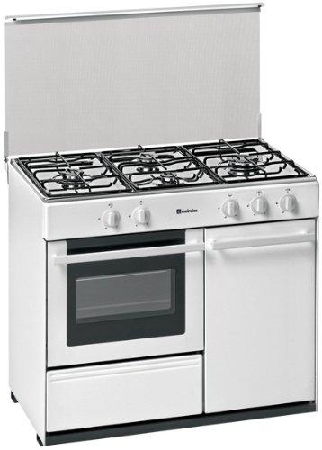 Meireles G 2940 V - Cocina (44 L, Gas natural, 44 L, Gas, Giratorio, Frente) Acero inoxidable