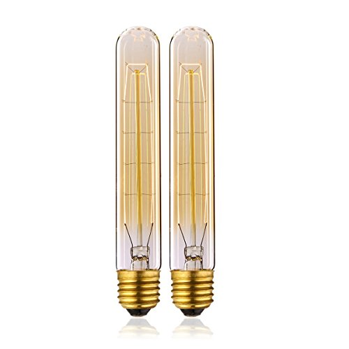 Vintage Lampadina incandescenza 25W T185 Dimmerabile E27 Edison Lampadina Retro Stile Lampada Decorativa di KJLARS