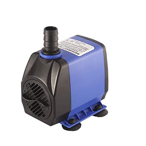 AQUANEAT Aquarium Water Pump 660GPH, Adjustable, Submersible Pump, Power Head, Fountain Pump, for Statuary, Fish Tank, Hydroponics