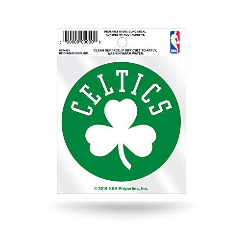Rico SS74065-Celtics Static Cling Small-Secondary