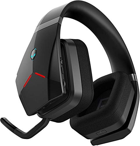 AW988 Alienware Wireless Gaming Headset Compatible with Area 51M Alienware M15 Alienware m15 Works W/ PS4, Xbox One, Nintendo Switch & Mobile Devices Via 3.5mm Connector Plus Best Notebook Pen Light