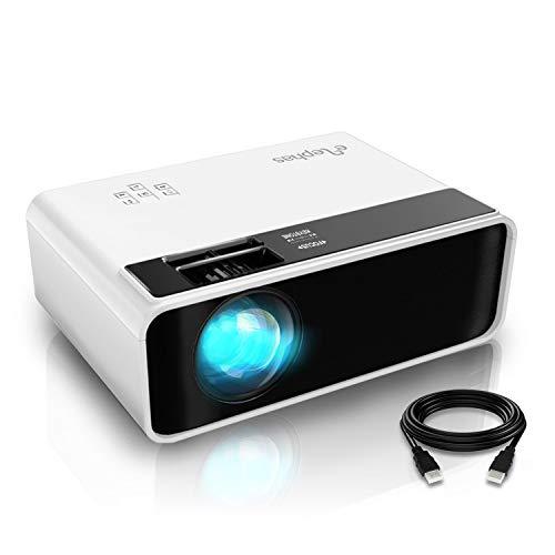 Videoprojecteur, ELEPHAS Rétroprojecteur Full HD Projecteur 5500...