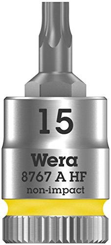 """Wera 05003882001 Belt A 3 TORX HF Zyklop Bitnuss-Satz Torx, mit Haltefunktion, 1/4""""-Antrieb, 9-teilig"""