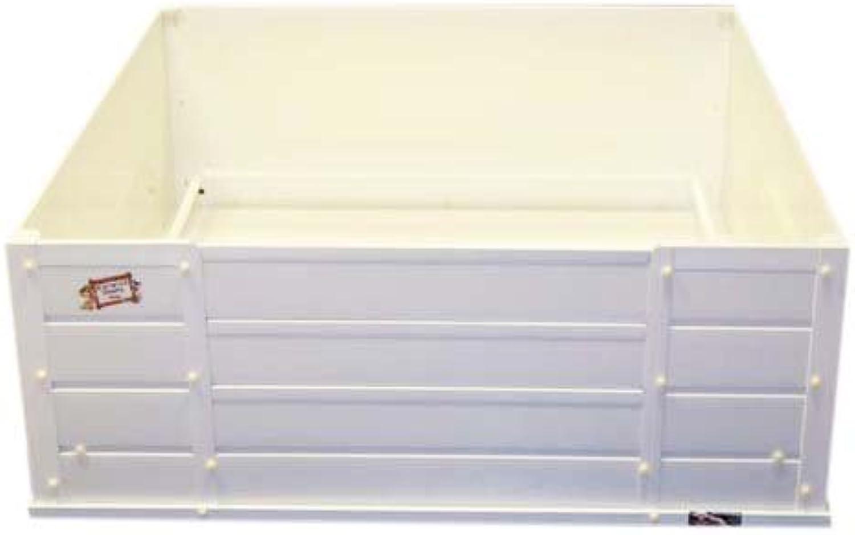 Deluxe pvc Warwick Whelping Box 36  x 36  x 12.5  high Large